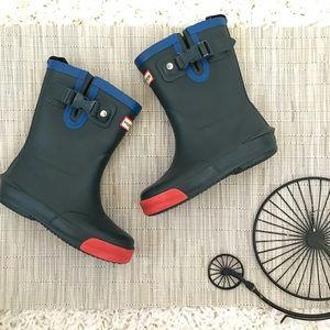 Hunter Davidson Toddler Rain Boots Navy Blue